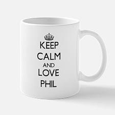 Keep Calm and Love Phil Mugs