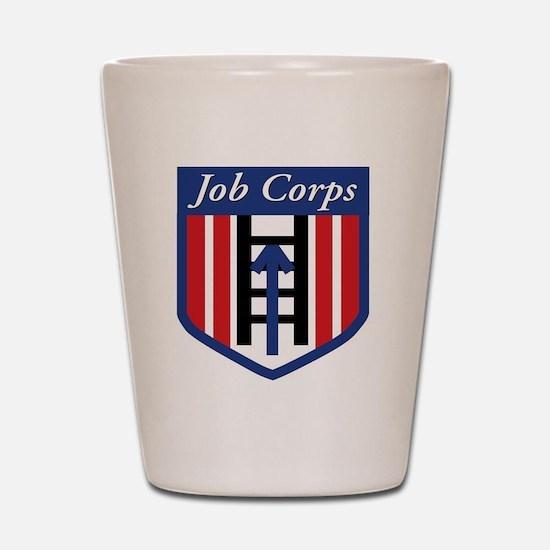 JobCorps3 Shot Glass