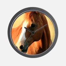 horse,1 Portrait Wall Clock