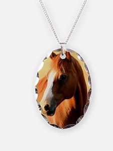 horse,1 Portrait Necklace