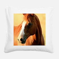 horse,1 Portrait Square Canvas Pillow