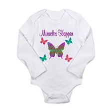 MIRACLES HAPPEN Long Sleeve Infant Bodysuit