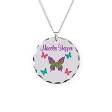 MIRACLES HAPPEN Necklace Circle Charm