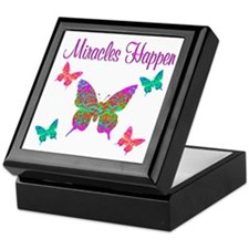 MIRACLES HAPPEN Keepsake Box