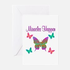 MIRACLES HAPPEN Greeting Cards (Pk of 20)