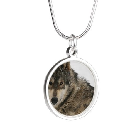 cover Silver Round Necklace
