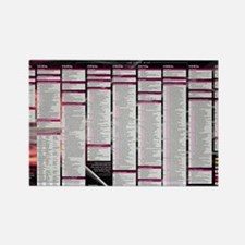 counterintelligence_timeline_23x3 Rectangle Magnet