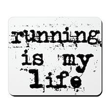 2-running_is_my_lifest_ut Mousepad