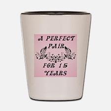 Perfect Pair 15 Year Shot Glass
