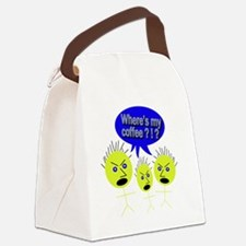 Angry Stick Men - 2 Canvas Lunch Bag