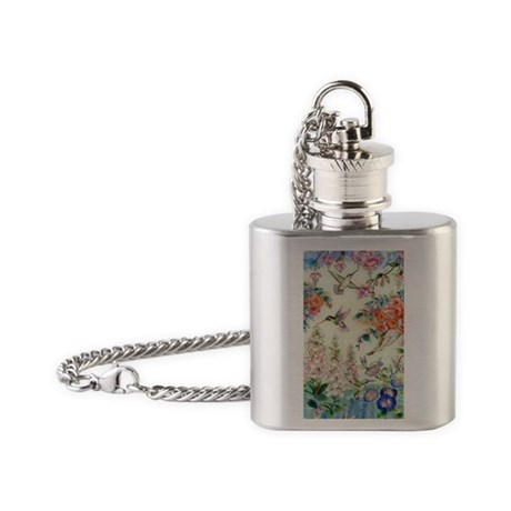 stainedglass464glong Flask Necklace