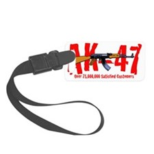 AK-47col b Luggage Tag