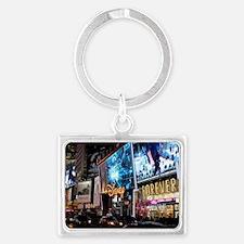 Times Square Landscape Keychain