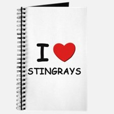 I love stingrays Journal
