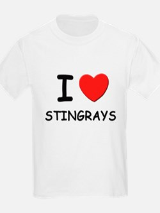 I love stingrays Kids T-Shirt