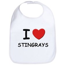I love stingrays Bib