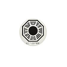 4-BLK_lost_2 Mini Button