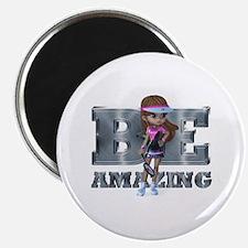 Be Amazing Tennis Magnet