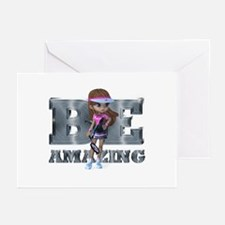 Be Amazing Tennis Greeting Cards (Pk of 10)