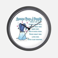 Penguin Lessons Wall Clock