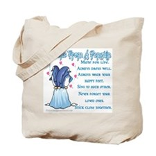 Penguin Lessons Tote Bag