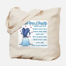 Penguin Lessons Tote Bag
