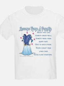 Penguin Lessons Kids T-Shirt