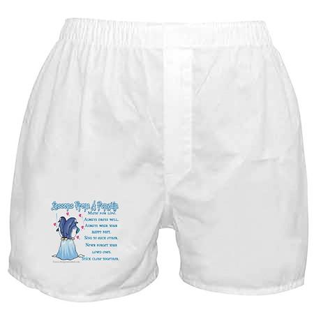 Penguin Lessons Boxer Shorts