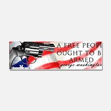 free ppl armed SA logo copy Car Magnet 10 x 3