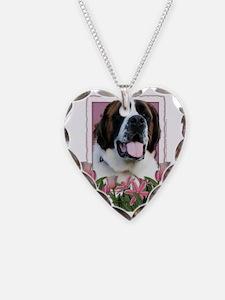 Pink_Tulips_Saint_Bernard_Mae Necklace