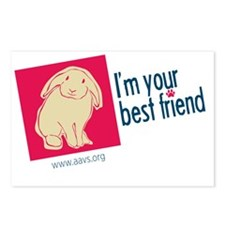 Best Friend Bunny Postcards (Package of 8)
