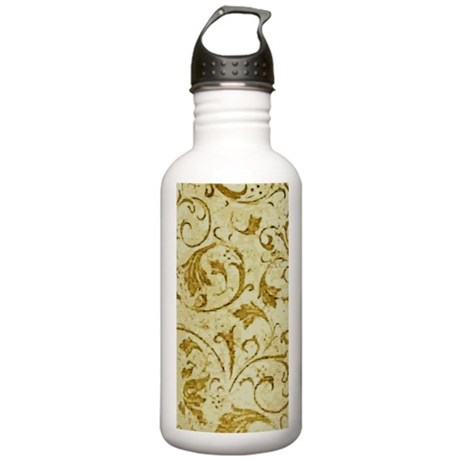 AntScrollDVgold441_iph Stainless Water Bottle 1.0L