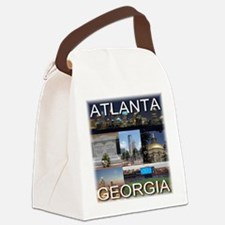 ATLANTAGEORGIA_TAL_COLLAGE Canvas Lunch Bag