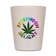 afternoon_delight_rainbow Shot Glass