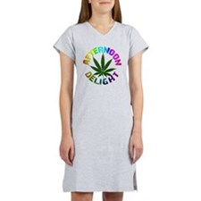 afternoon_delight_rainbow Women's Nightshirt