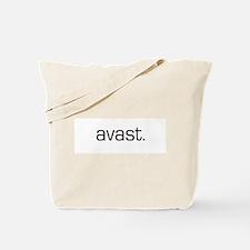 Avast Pirate Tote Bag