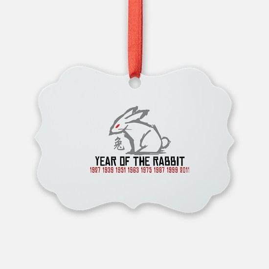 rabbit33light Ornament