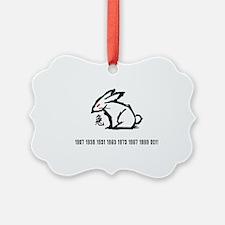 rabbit33red Ornament