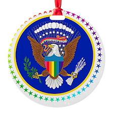 PresSeal50stars09b Ornament