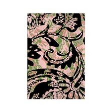TribalVoodooFlPk443_iphone Rectangle Magnet