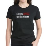 Sleeps Well With Others Women's Black T-Shirt
