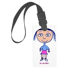 Summer Solstice Baby Luggage Tag