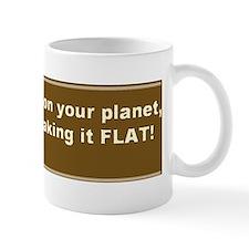 Im on your planet, sepia Mug