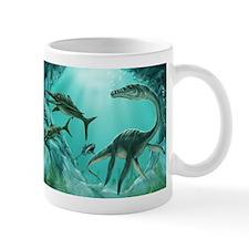Underwater Dinosaur Small Mug