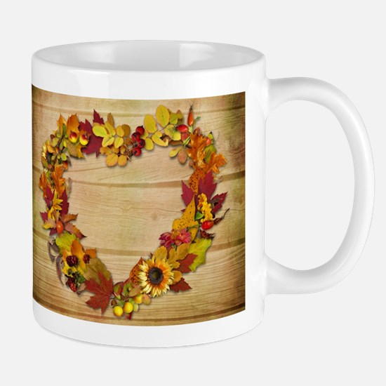 Thanksgiving Heart Mug