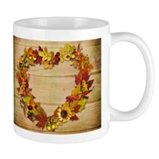 Thanksgiving Heart Small Mug