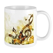 Butterfly Music Notes Mug