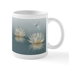Lotus and Dragonfly Mug