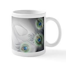 Peacock Feather Fantasy Mug