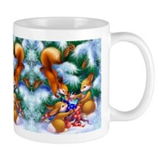 Cute Christmas Animals Mug